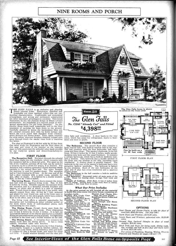 9 best Catalogue Homes images on Pinterest | Vintage homes, Vintage ...