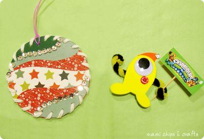 mami chips & crafts: #giocaimmaginacrea con @Mammafelice Network: Swap di Natale