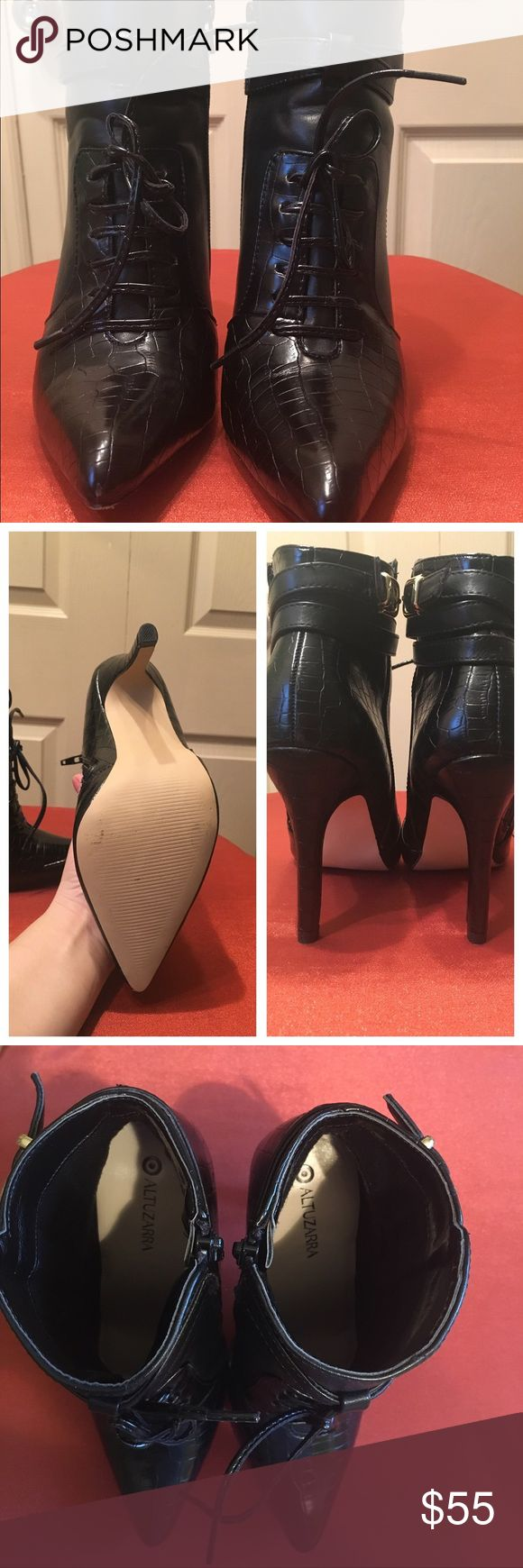 🍀Altuzarra black booties 🍀 Altuzarra for target boots!! Never worn!! I just tried!! I'm looking for the same but 5 or 5.5!! Looks nice with any clothes! Altuzarra Shoes Ankle Boots & Booties