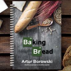 Personalizowany przepiśnik BAKING BREAD idealny na urodziny