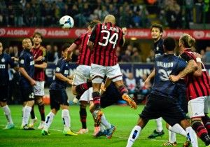#DeJong in gol in quel derby vinto dal #Milan