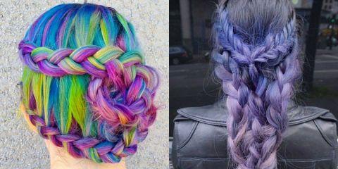 capelli arcobaleno instagram