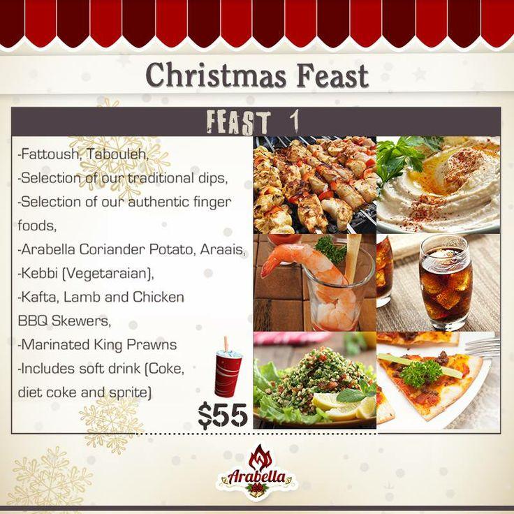 Christmas Menu at Arabella Restaurant  #christmas