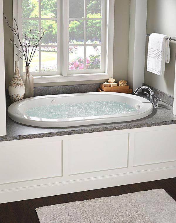 24 Fabulous Drop In Tub Ideas In 2020 With Images Bathtub Decor