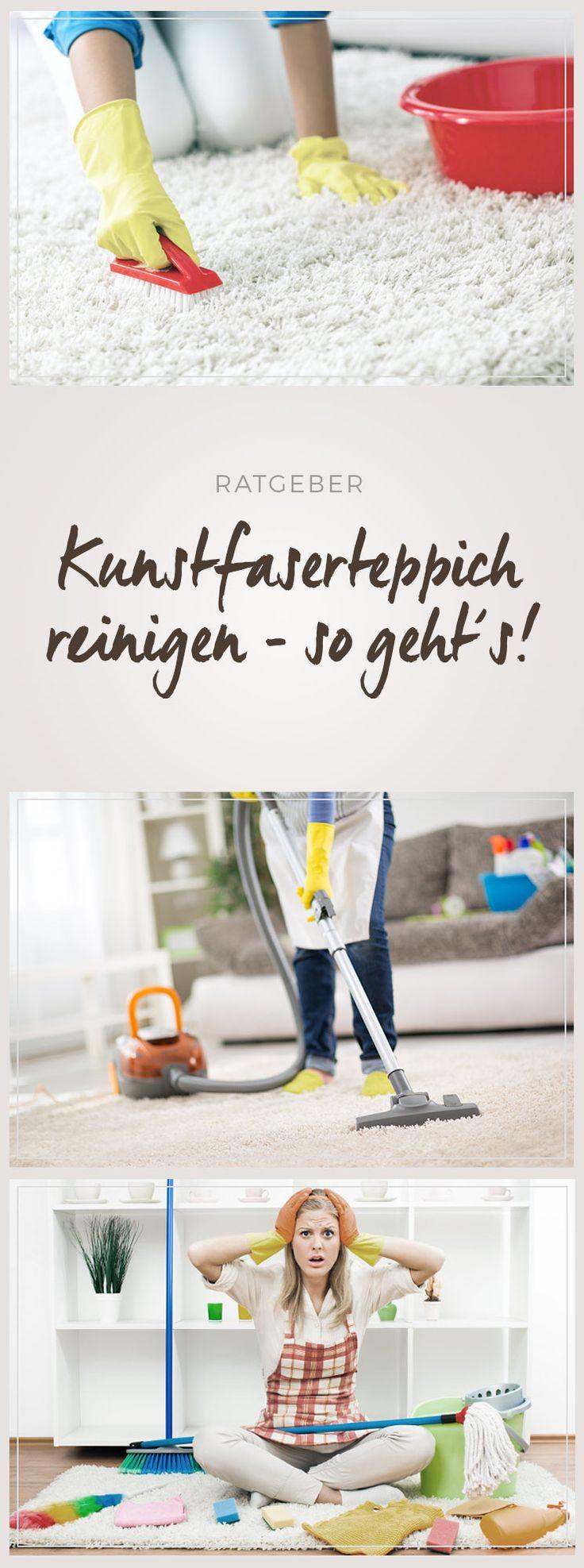 Kunstfaserteppich reinigen - Tipps im benuta Blog