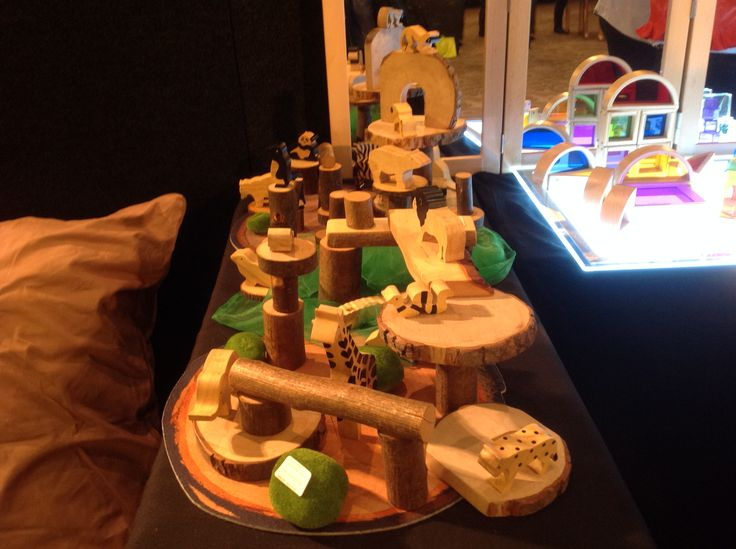 These wooden Tree Blocks are a natural construction set. Perfect for loose parts or creating mini worlds.