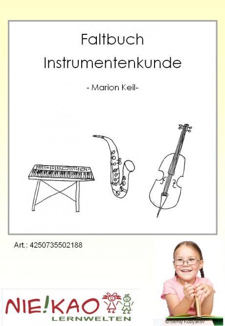 Faltbuch Instrumentengruppen