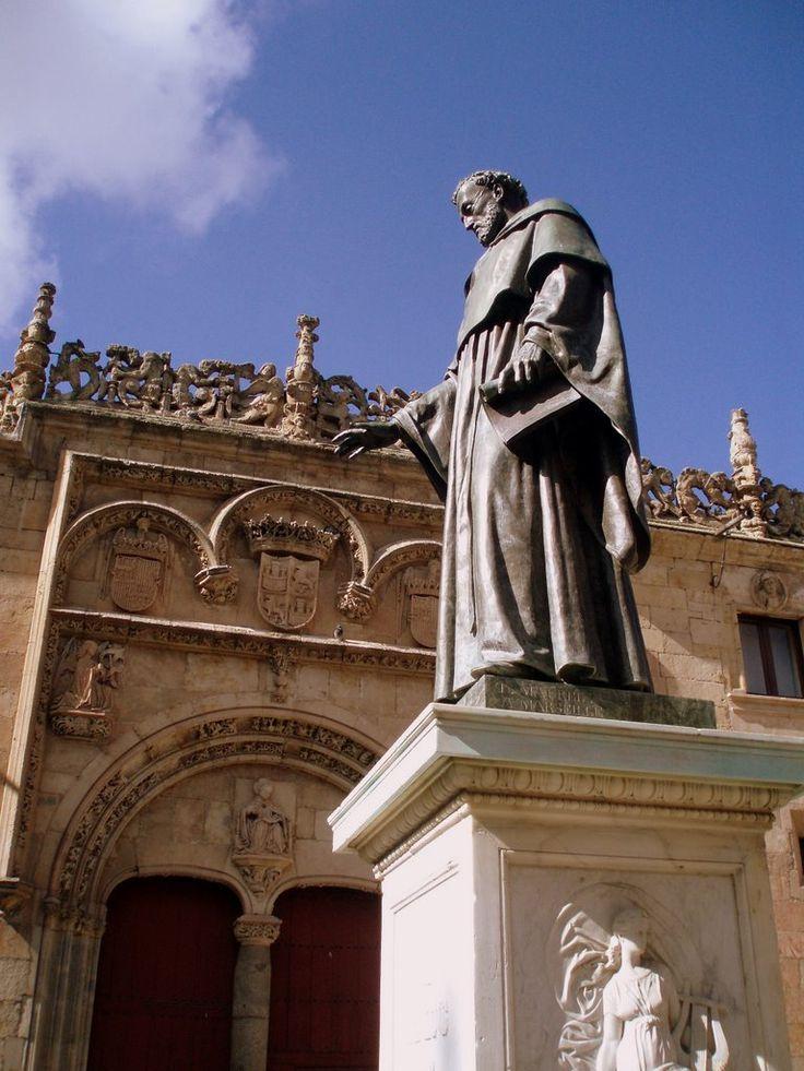 Archivo:University of Salamanca, Spain.            Fray Luis de Leon.