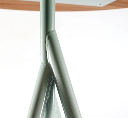 Mangrove table - The intricately welded legs emulate naturally occurring joins and are testimony to the skill of the metalworker. http://www.zenithinteriors.com.au/product/2451/mangrove