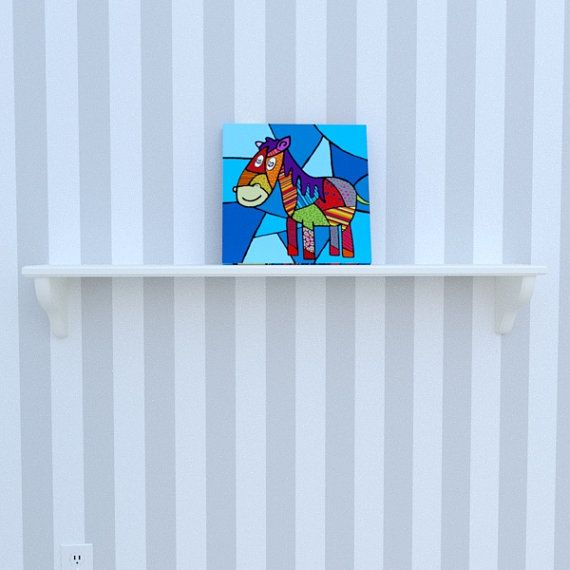 Canvas of the horse by Decoludik on Etsy