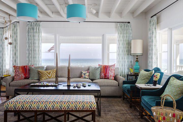 lovely beach house living room | 2476 best Lovely Living Rooms images on Pinterest | Living ...