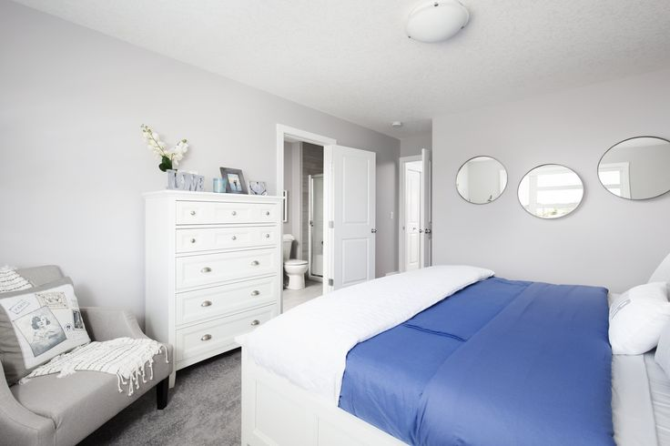 Owner's master bedroom with private 3 piece ensuite and walk-in closet
