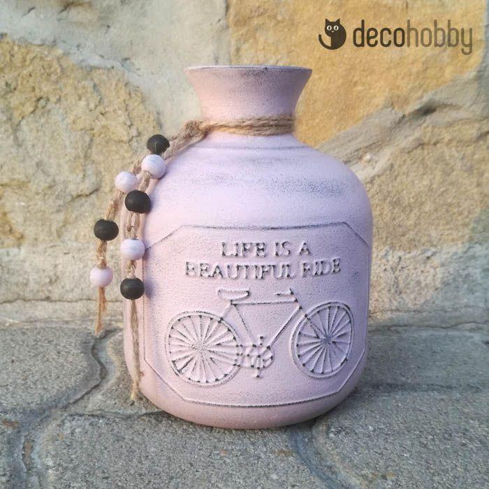 Díszüveg - Az élet csodálatos utazás | DecoHobby