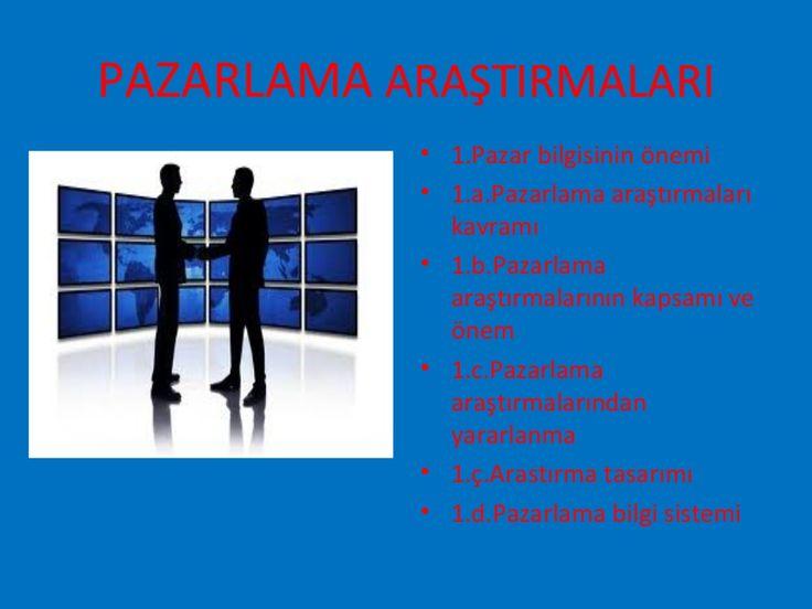 10. bölüm pazarlama araştırmaları by Suleyman Bayindir via slideshare