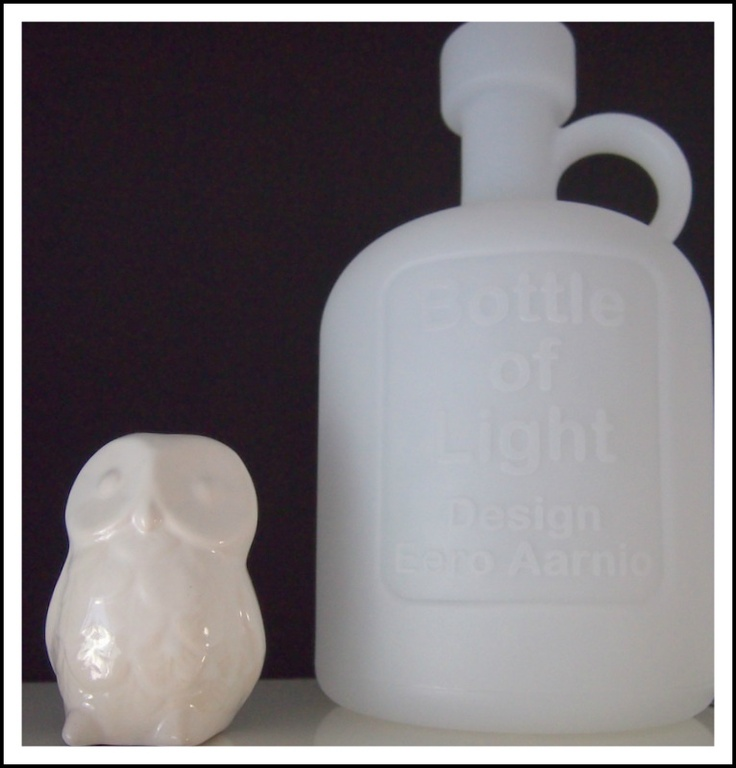 Eero Aarnio´s bottle of light