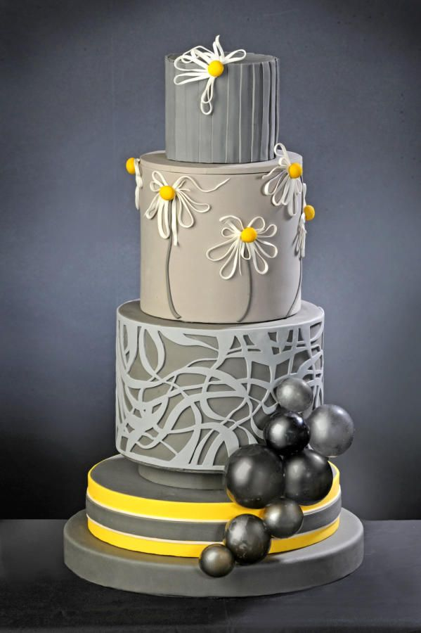Best 25 modern cakes ideas on pinterest gorgeous cakes for Art deco cake decoration