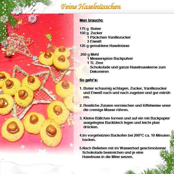 Weihnachten: Feine Haselnüsschen www.haba.de