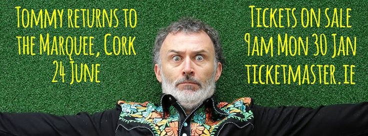 Tommy Tiernan returns to the Marquee, Cork