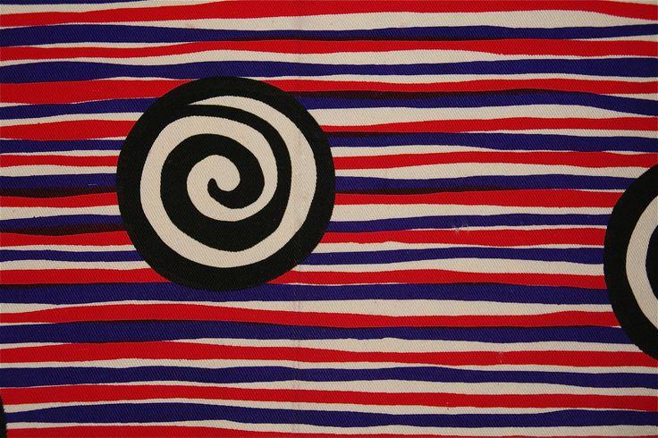 Stripy thing Screen printed 1995