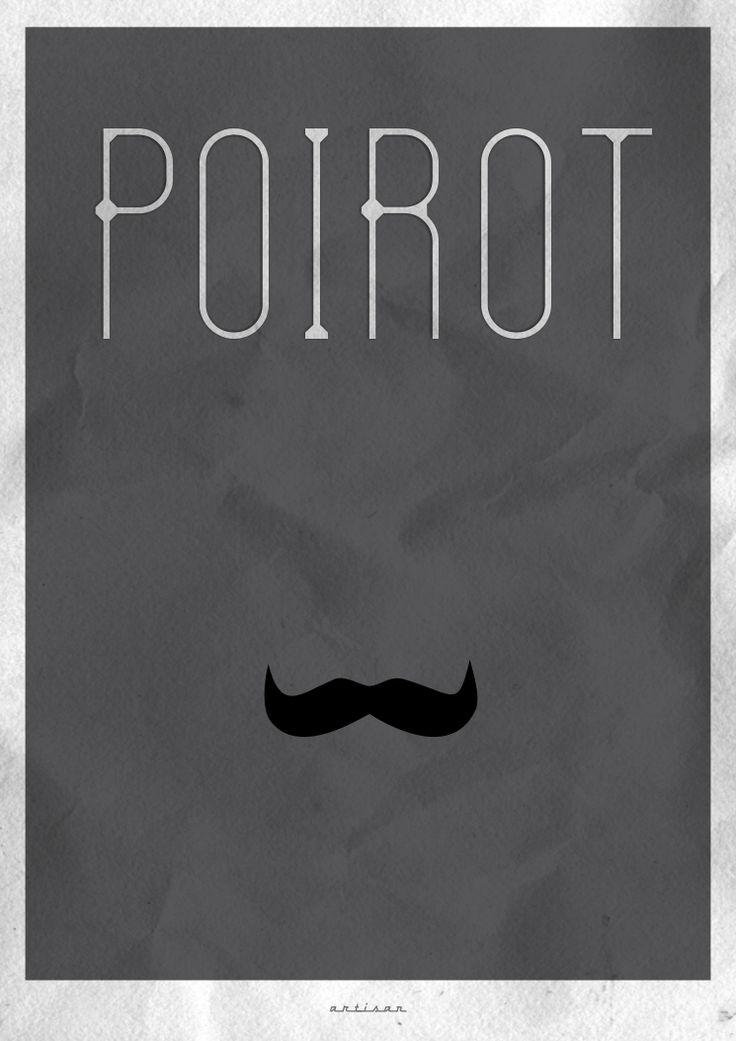 POIROT poster - how could I have forgotten Poirot???