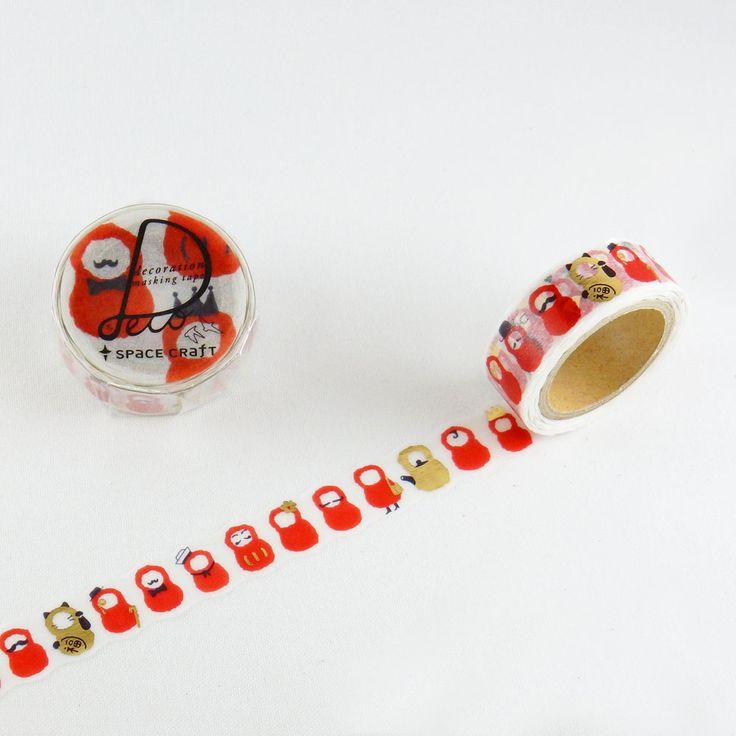 space craft - マスキングテープ / DARUMA - マスキングテープ:ROUND TOP(ラウンドトップ)オンラインショップ ~ちょっと楽しい、をいつも側に。~