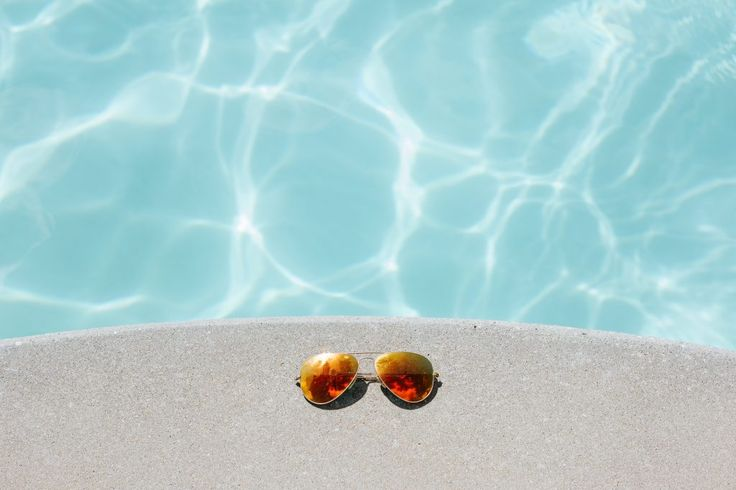 Download this free photo here www.picmelon.com #freestockphoto #freephoto #freebie /// Sunglasses by the Pool | picmelon