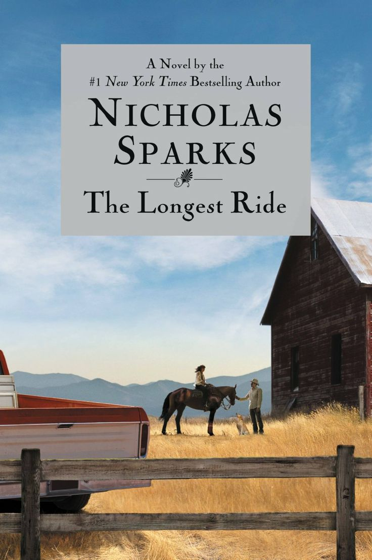 The Longest Ride  by Nicholas Sparks ($6.49) - Loved the character's and the story was great. - I highly recommend this book to all readers who enjoy romantic/love stories. - I love his stories, they are so true to life. http://www.amazon.com/exec/obidos/ASIN/B00BOTU42A/electronicfro-20/ASIN/B00BOTU42A