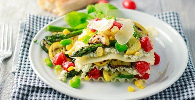Too hot to turn on the oven? Here's a no-bake lasagna option that features seasonal fresh veggies. Ready in 30 min. or less. Can be made year round, just change the fresh veggies to match the seasons. The temperature outside is going up! up! up! Which is great for summer time outdoor activities and vacations,...Read More