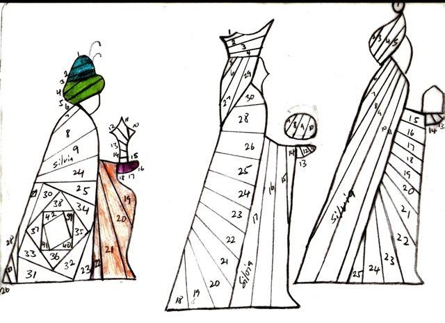3 Kings Iris Fold