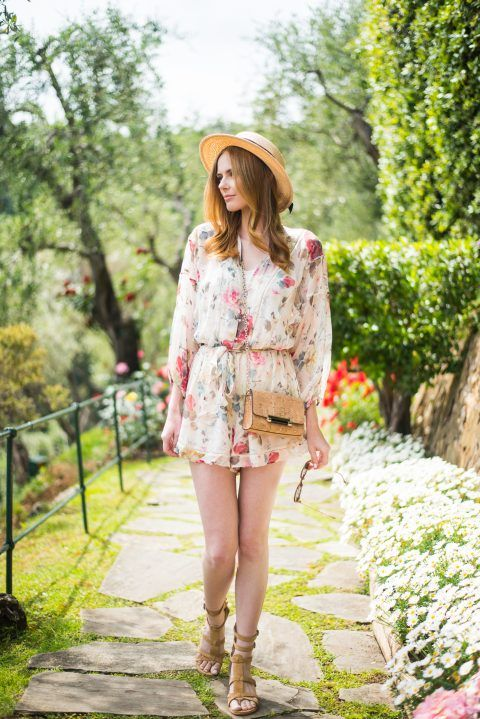 Alyssa Campanella The A List blog Miss USA 2011 Portofino Italy Zimmermann Mischief Romper