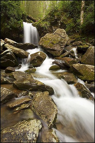 Grotto Falls - Great Smokey Mountain National Park, Tennessee