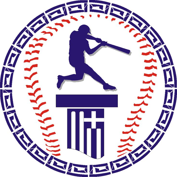 Baseball Acropolis logo. Organization that helps promote the growth of baseball in Greece.