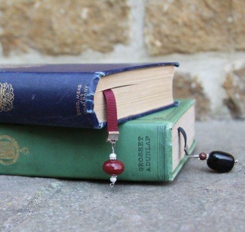 Bookmark gemstones
