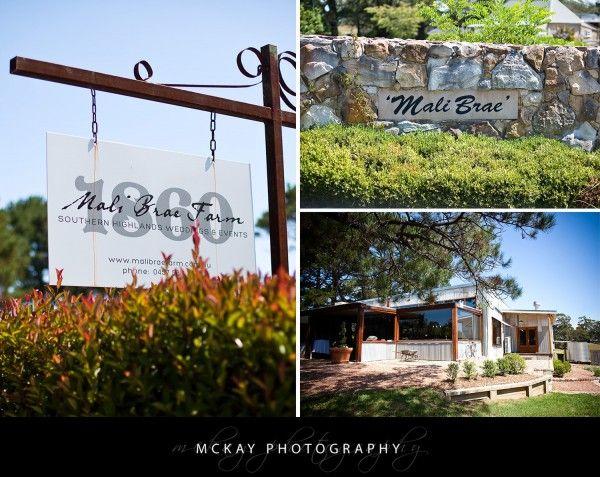 Mali Brae Farm - Southern Highlands Wedding Venue - by McKay Photography  #mckayphotography #wedding #malibrae