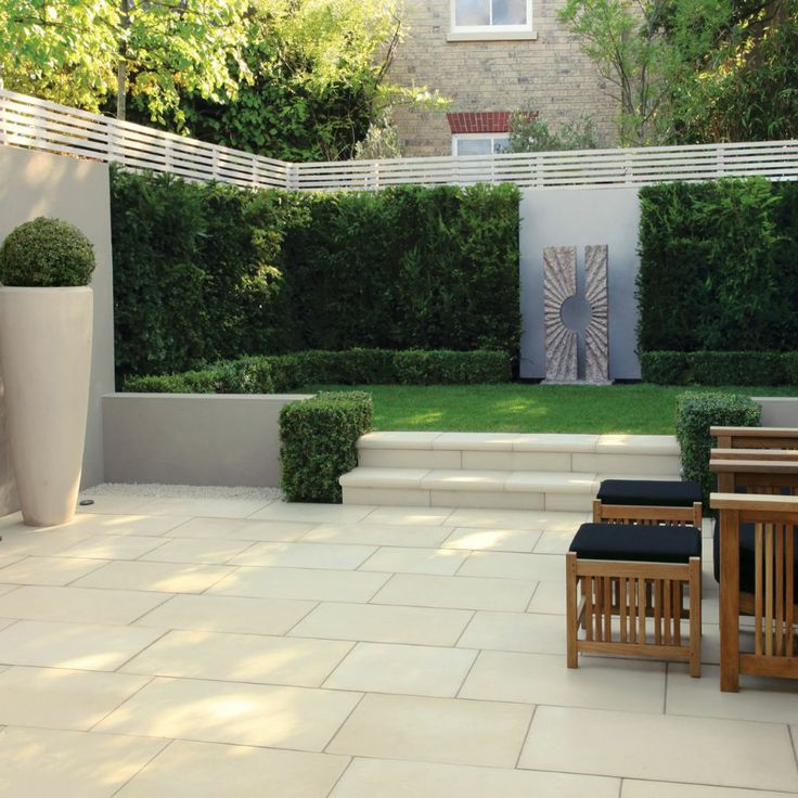 Smooth concrete paving - Stonemarket Paving-Manmade Haus -Riven Dune-PAVING SLABS MIXED SIZE 11 68m2
