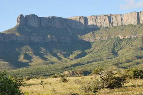 The Camdeboo Mountains in the Eastern Cape Province of South Africa  Photo Charles Stirton