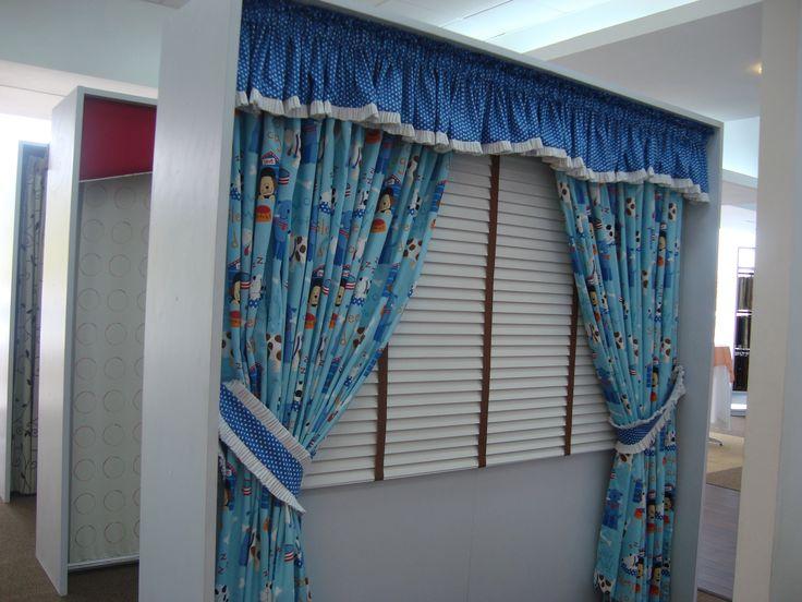 cortina hecha a la medida para habitacin de nio cortinas nio