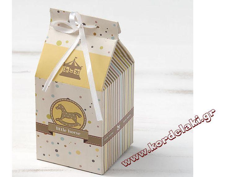Κουτί milkbox αλογάκι καρουζέλ για μπομπονιέρα γάμου και βάπτισης, στολισμούς, κατασκευές, διακοσμήσεις ή οτιδήποτε έχετε φανταστεί.
