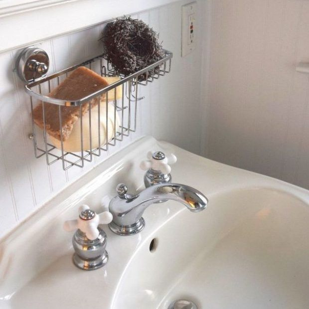 Clean Your Porcelain Sinks-Without Bleach! - 101 Days of Organization How to Clean Porcelain, How to Clean Porcelain Sinks, Cleaning Tips and Tricks, Cleaning Porcelain, Natural Ways to Clean Porcelain, Cleaning, Cleaning Tips