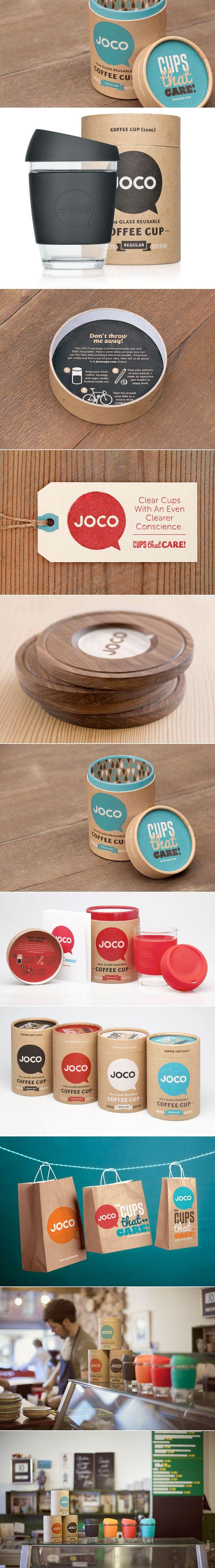 JOCO Coffee Cup — The Dieline | Packaging & Branding Design & Innovation News