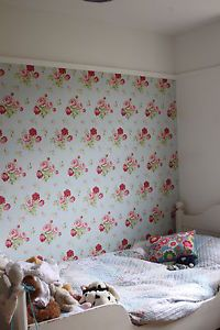 Blue wallpapers antique roses and cath kidston on pinterest for Cath kidston style bedroom ideas