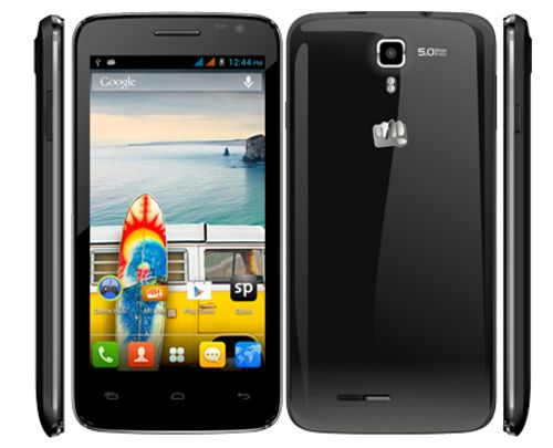 Micromax Canvas Juice A177 (Black) Specification and Prices in India |