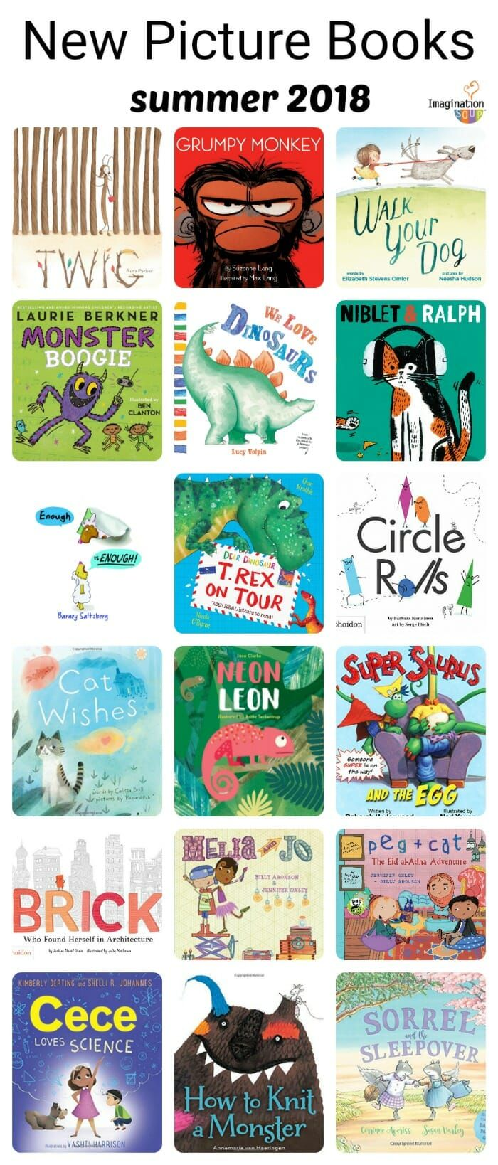 New In Picture Books Summer 2018 School Reading Pinterest
