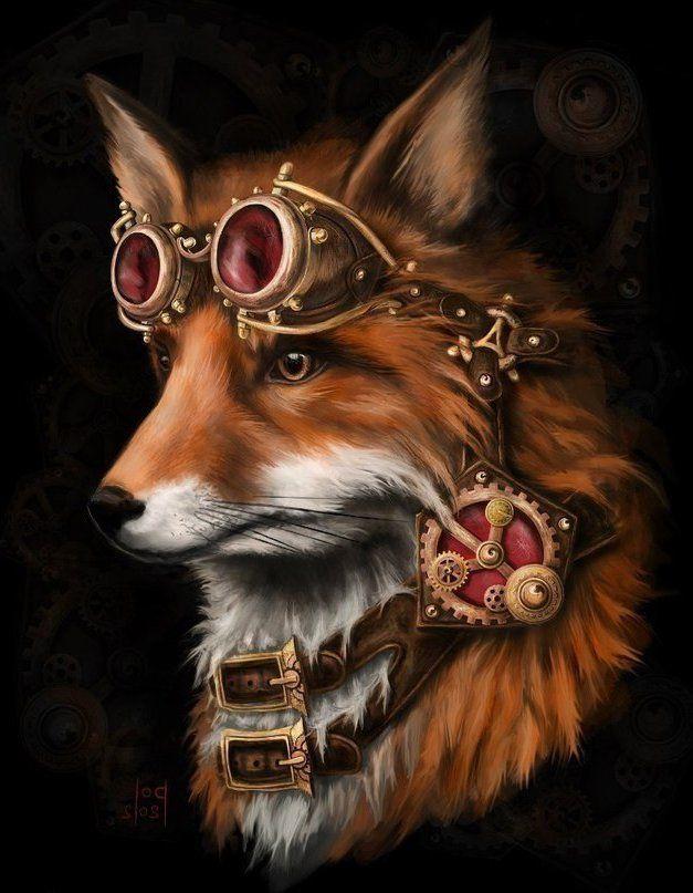 картинки волки фэнтези в шляпе уже