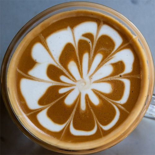 how to make espresso foam art