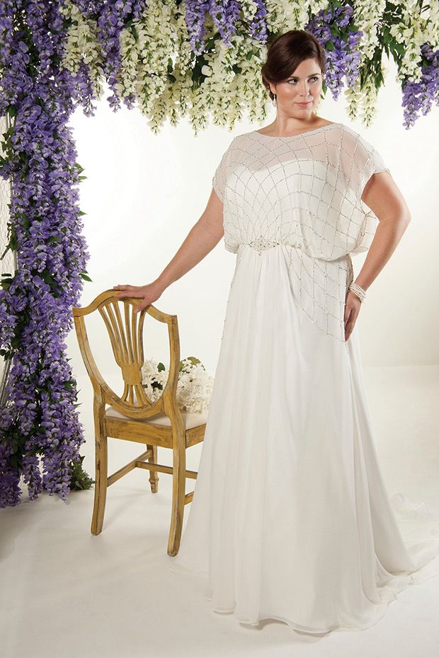 Callista | Plus Size Wedding Dresses | www.onefabday.com