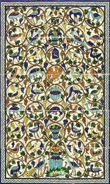 Tile Murals - mediterranean - Tile - Tel Aviv - The Armenian Ceramics of Jerusalem