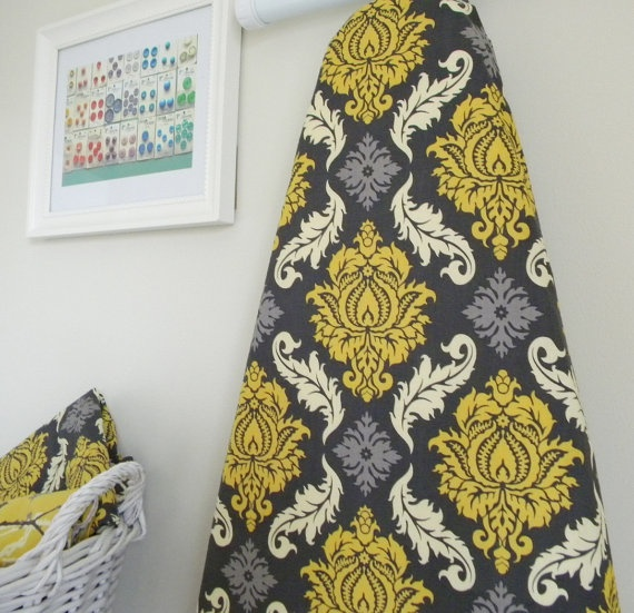 LOVE this ironing board cover... super cute! $24