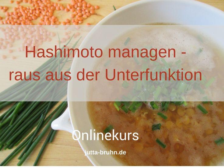 Jutta Bruhn Heilpraktikerin, Selbstlernkurs Ernährung bei Hashimoto