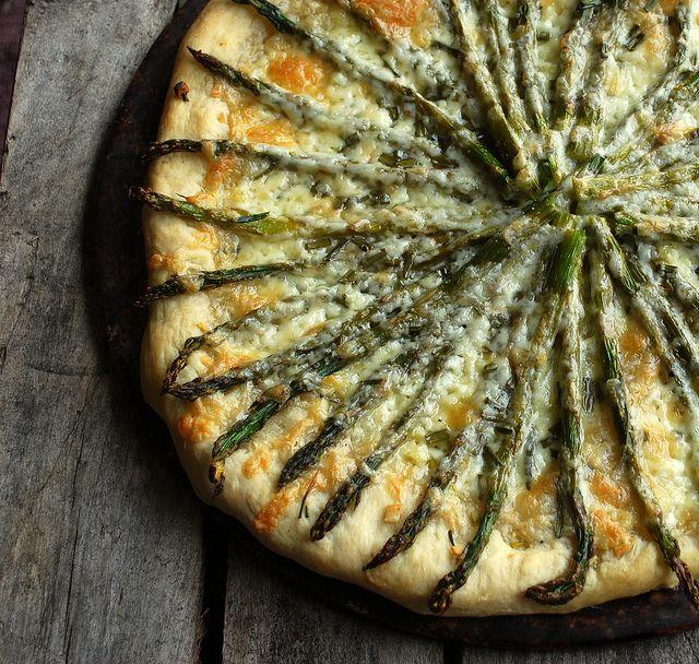 asparaguspizza
